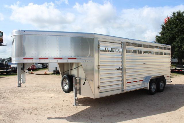2020 Featherlite 8127 - 20 20' V-NOSE LIVESTOCK TRAILER 7' TALL & 7'WIDE CONROE, TX 7