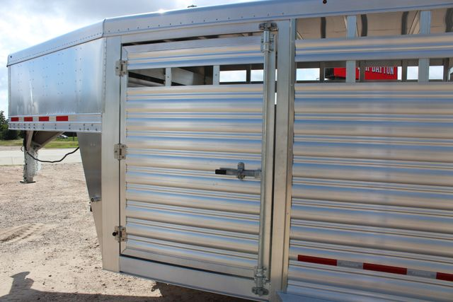2020 Featherlite 8127 - 20 20' V-NOSE LIVESTOCK TRAILER 7' TALL & 7'WIDE CONROE, TX 9