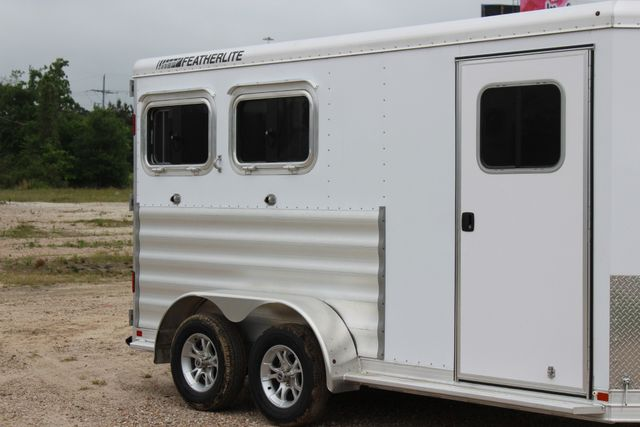 "2020 Featherlite 9409 - 2H 2 horse 7'0""T x 14' 2"" long with 24"" slant wall DR CONROE, TX 1"