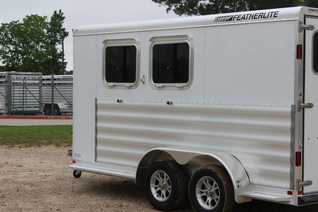 "2020 Featherlite 9409 - 2H 2 horse 7'0""T x 14' 2"" long with 24"" slant wall DR CONROE, TX 10"
