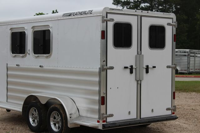 "2020 Featherlite 9409 - 2H 2 horse 7'0""T x 14' 2"" long with 24"" slant wall DR CONROE, TX 11"