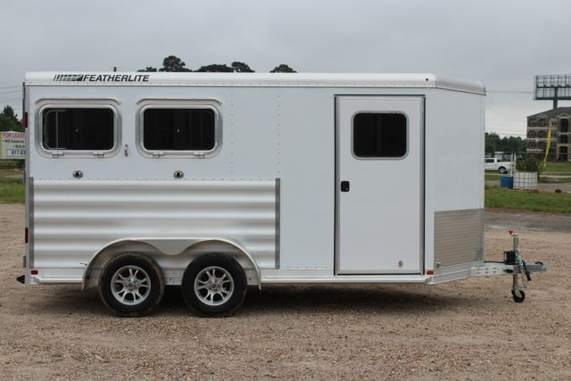 "2020 Featherlite 9409 - 2H 2 horse 7'0""T x 14' 2"" long with 24"" slant wall DR CONROE, TX 25"