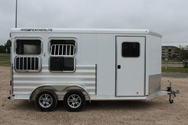 "2020 Featherlite 9409 - 2H 2 horse 7'0""T x 14' 2"" long with 24"" slant wall DR CONROE, TX 26"