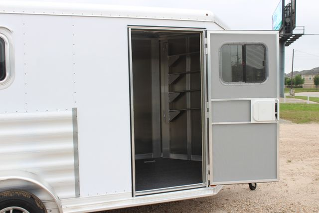 "2020 Featherlite 9409 - 2H 2 horse 7'0""T x 14' 2"" long with 24"" slant wall DR CONROE, TX 27"