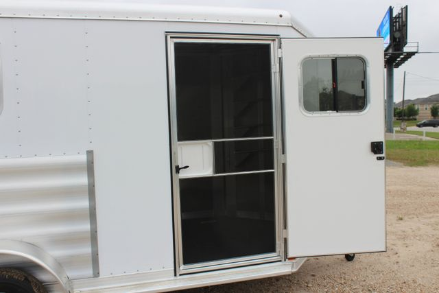 "2020 Featherlite 9409 - 2H 2 horse 7'0""T x 14' 2"" long with 24"" slant wall DR CONROE, TX 28"