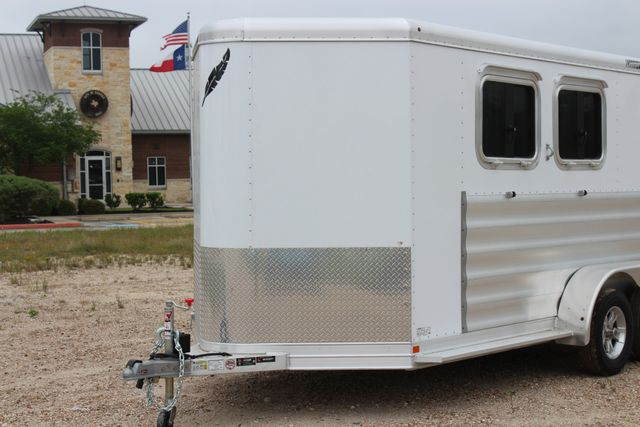 "2020 Featherlite 9409 - 2H 2 horse 7'0""T x 14' 2"" long with 24"" slant wall DR CONROE, TX 4"