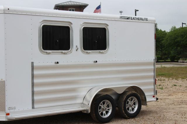 "2020 Featherlite 9409 - 2H 2 horse 7'0""T x 14' 2"" long with 24"" slant wall DR CONROE, TX 5"