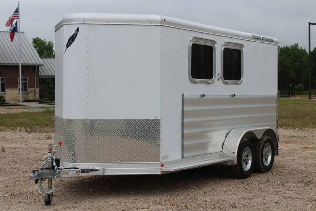 "2020 Featherlite 9409 - 2H 2 horse 7'0""T x 14' 2"" long with 24"" slant wall DR CONROE, TX 6"