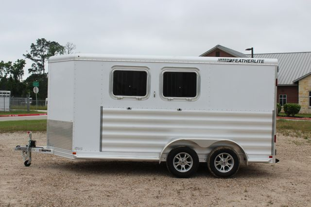 "2020 Featherlite 9409 - 2H 2 horse 7'0""T x 14' 2"" long with 24"" slant wall DR CONROE, TX 7"