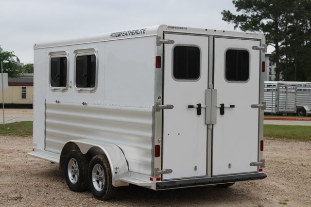"2020 Featherlite 9409 - 2H 2 horse 7'0""T x 14' 2"" long with 24"" slant wall DR CONROE, TX 9"