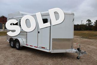 2020 Featherlite 9409 - 3 HORSE 3 HORSE - DRAG - HAY RACK - DROP DOORS ON HIP CONROE, TX