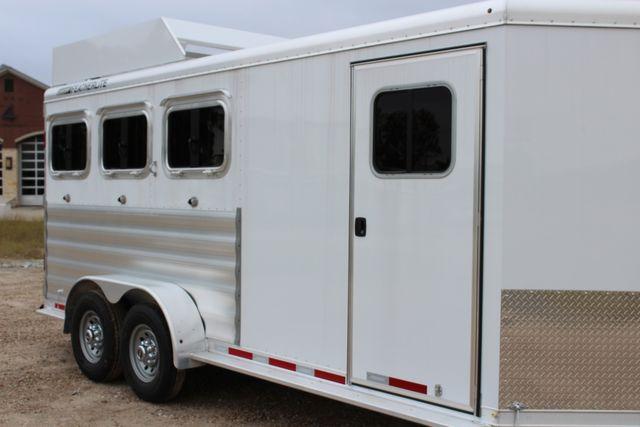 2020 Featherlite 9409 - 3 HORSE 3 HORSE - DRAG - HAY RACK - DROP DOORS ON HIP CONROE, TX 1