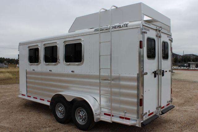 2020 Featherlite 9409 - 3 HORSE 3 HORSE - DRAG - HAY RACK - DROP DOORS ON HIP CONROE, TX 10