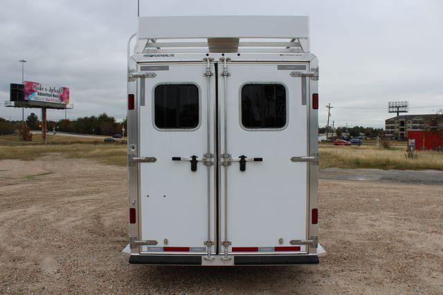 2020 Featherlite 9409 - 3 HORSE 3 HORSE - DRAG - HAY RACK - DROP DOORS ON HIP CONROE, TX 13