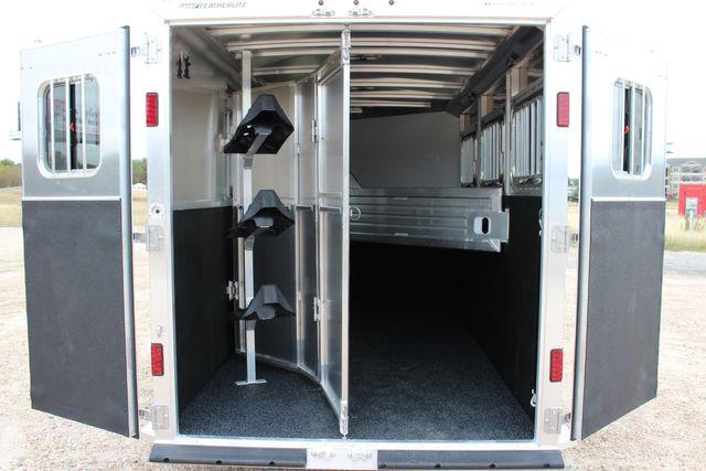 2020 Featherlite 9409 - 3 HORSE 3 HORSE - DRAG - HAY RACK - DROP DOORS ON HIP CONROE, TX 14