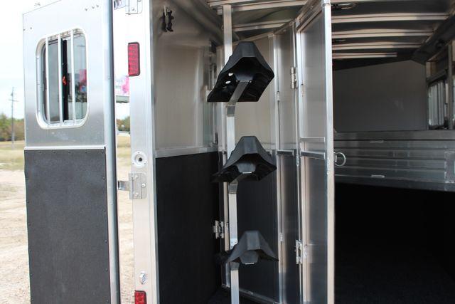 2020 Featherlite 9409 - 3 HORSE 3 HORSE - DRAG - HAY RACK - DROP DOORS ON HIP CONROE, TX 15