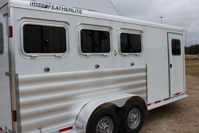 2020 Featherlite 9409 - 3 HORSE 3 HORSE - DRAG - HAY RACK - DROP DOORS ON HIP CONROE, TX 19