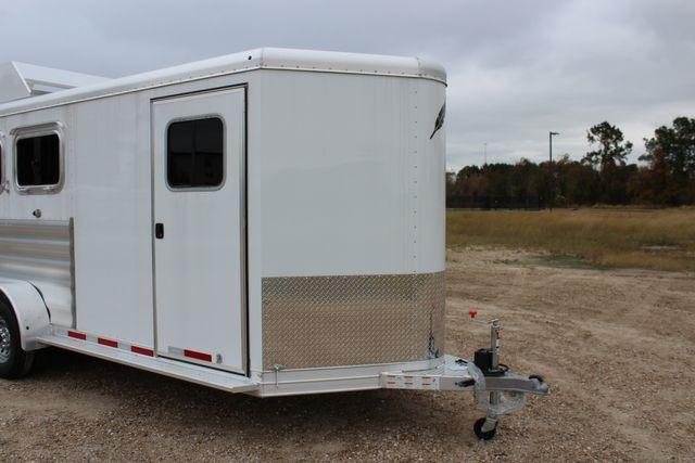2020 Featherlite 9409 - 3 HORSE 3 HORSE - DRAG - HAY RACK - DROP DOORS ON HIP CONROE, TX 2