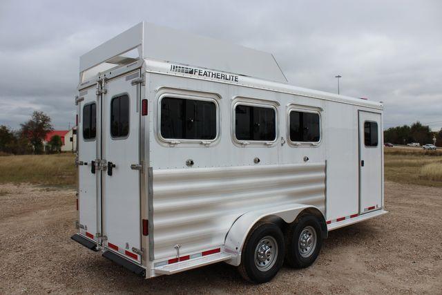 2020 Featherlite 9409 - 3 HORSE 3 HORSE - DRAG - HAY RACK - DROP DOORS ON HIP CONROE, TX 20
