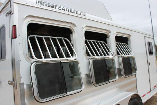 2020 Featherlite 9409 - 3 HORSE 3 HORSE - DRAG - HAY RACK - DROP DOORS ON HIP CONROE, TX 21