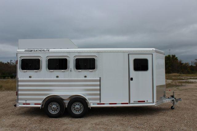 2020 Featherlite 9409 - 3 HORSE 3 HORSE - DRAG - HAY RACK - DROP DOORS ON HIP CONROE, TX 22