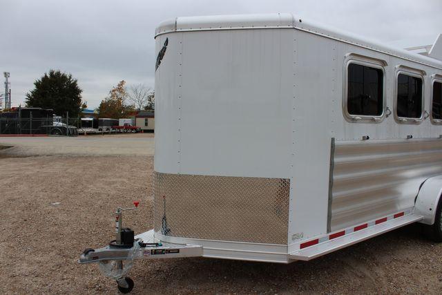 2020 Featherlite 9409 - 3 HORSE 3 HORSE - DRAG - HAY RACK - DROP DOORS ON HIP CONROE, TX 6