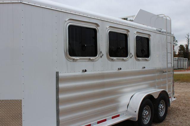 2020 Featherlite 9409 - 3 HORSE 3 HORSE - DRAG - HAY RACK - DROP DOORS ON HIP CONROE, TX 7