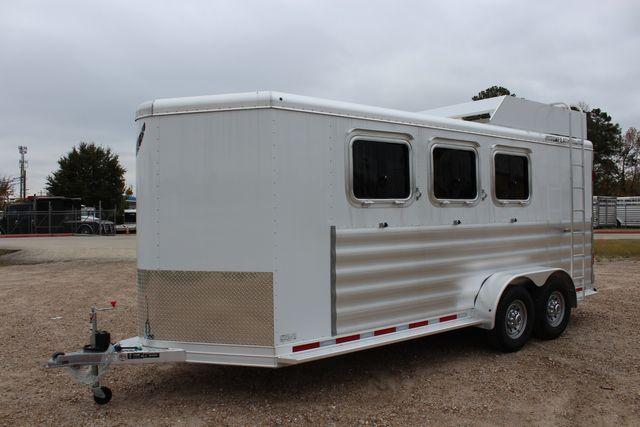 2020 Featherlite 9409 - 3 HORSE 3 HORSE - DRAG - HAY RACK - DROP DOORS ON HIP CONROE, TX 8