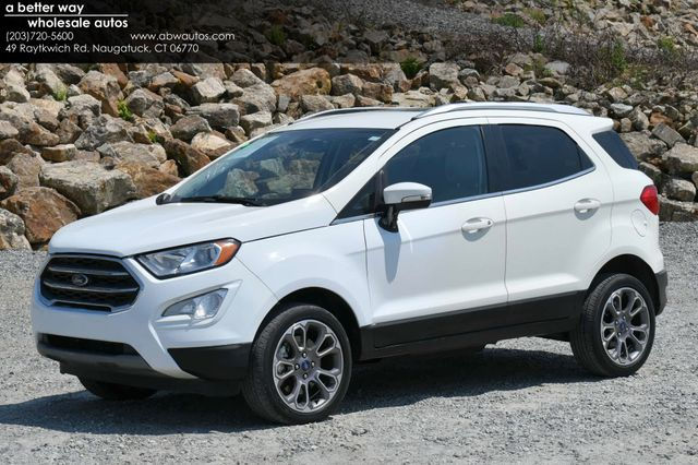2020 Ford EcoSport Titanium 4WD Naugatuck, Connecticut