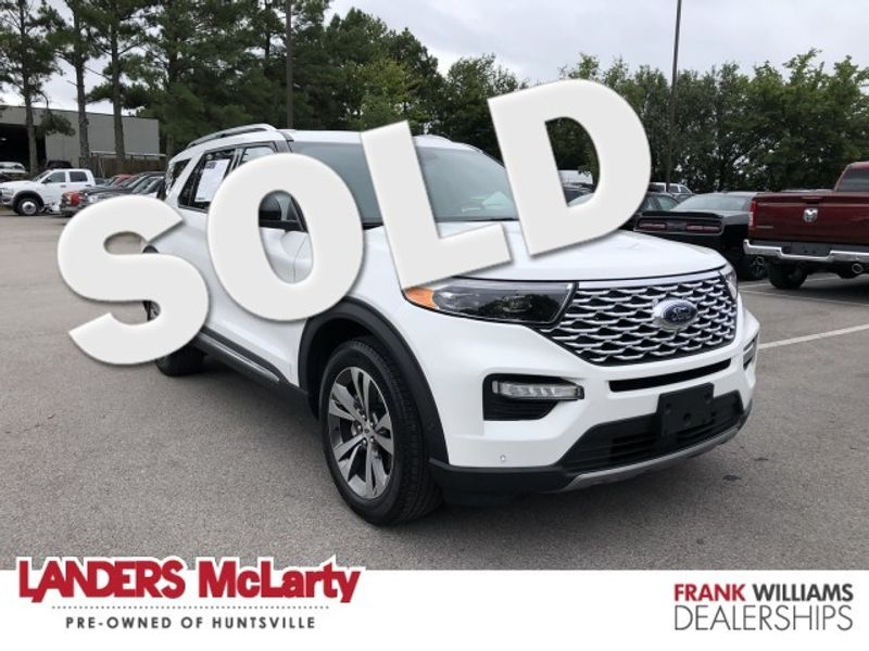 2020 Ford Explorer Platinum | Huntsville, Alabama | Landers Mclarty DCJ & Subaru in Huntsville Alabama