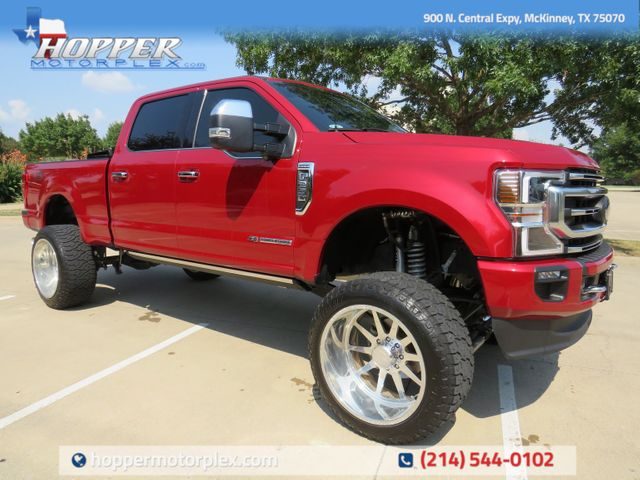2020 Ford F-250SD Platinum Custom Lift, Wheels and Tires