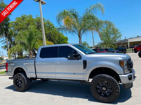 2020 Ford Super Duty F-250 Pickup LARIAT DIESEL 4X4 CREWCAB LEATHER NAV LIFTED in Plant City, Florida