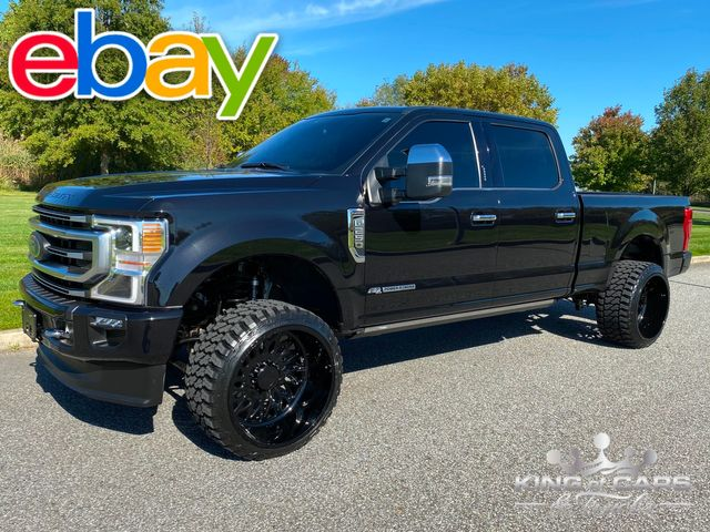 2020 Ford F250 Platinum Crew 6.7L DIESEL 4X4 ONLY 13K MILE WHEELS TIRES MUST SEE