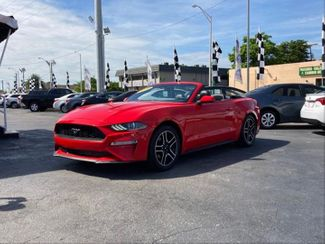 2020 Ford Mustang EcoBoost Convertible 2D in Hialeah, FL 33010