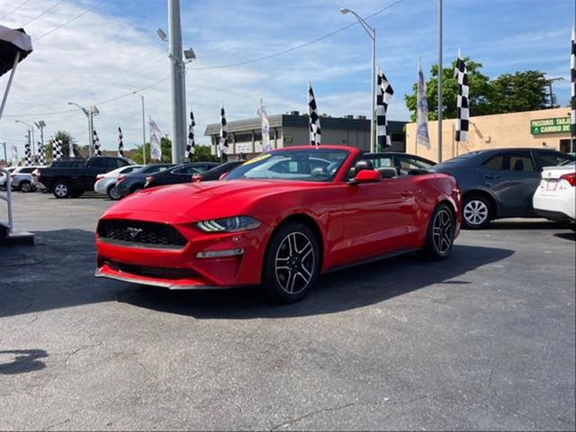 2020 Ford Mustang EcoBoost Convertible 2D