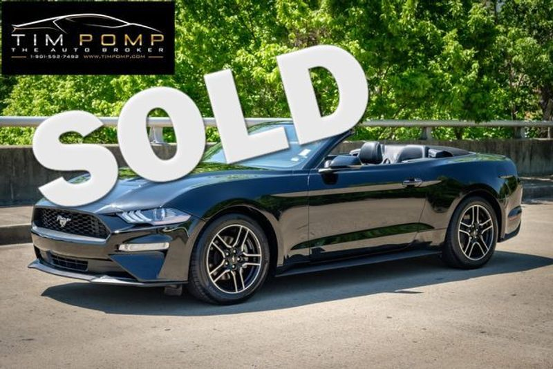 2020 Ford Mustang EcoBoost Premium   Memphis, Tennessee   Tim Pomp - The Auto Broker in Memphis Tennessee