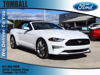 2020 Ford Mustang EcoBoost Premium in Tomball, TX 77375