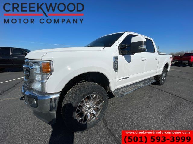 2020 Ford Super Duty F-250 Lariat 4x4 Diesel Leveled New Tires 20s 1 Owner