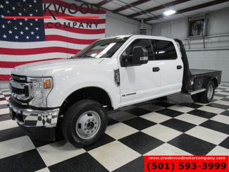 2020 Ford Super Duty F-350 XLT 4x4 Diesel Dually Skirted Flatbed White 1Owner in Searcy, AR 72143