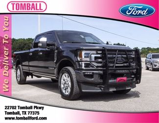 2020 Ford Super Duty F-350 SRW Pickup Platinum in Tomball, TX 77375