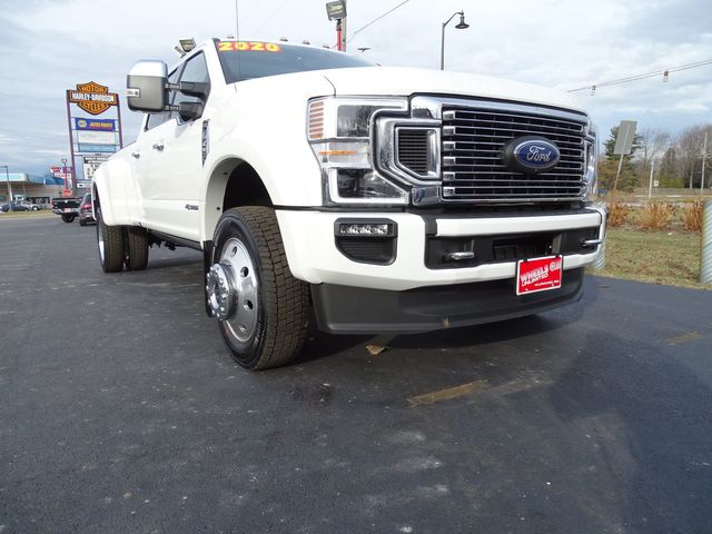2020 Ford Super Duty F-450 Pickup Platinum in Valparaiso, Indiana 46385