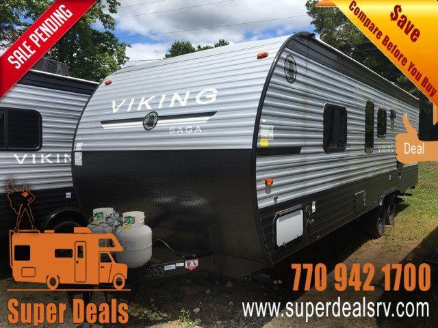 2020 Forest River Viking 26SBHSAGA