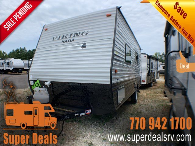 2020 Forest River Viking Ultra-Lite 17SFQ SAGA in Temple, GA 30179
