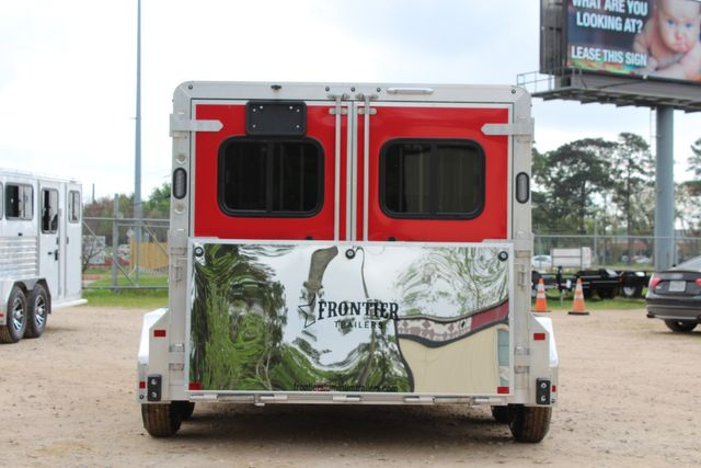 2020 Frontier LOW PRO SHOW 4 PEN 4 ADJ PEN SYSTEM, REAR RAMP, LINED/ INSULATED ROOF CONROE, TX 12