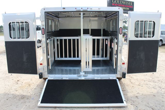 2020 Frontier LOW PRO SHOW 4 PEN 4 ADJ PEN SYSTEM, REAR RAMP, LINED/ INSULATED ROOF CONROE, TX 14