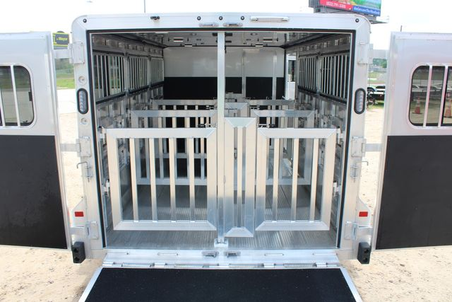 2020 Frontier LOW PRO SHOW 6 pen Livestock show trailer with adjustable pen system+ CONROE, TX 25