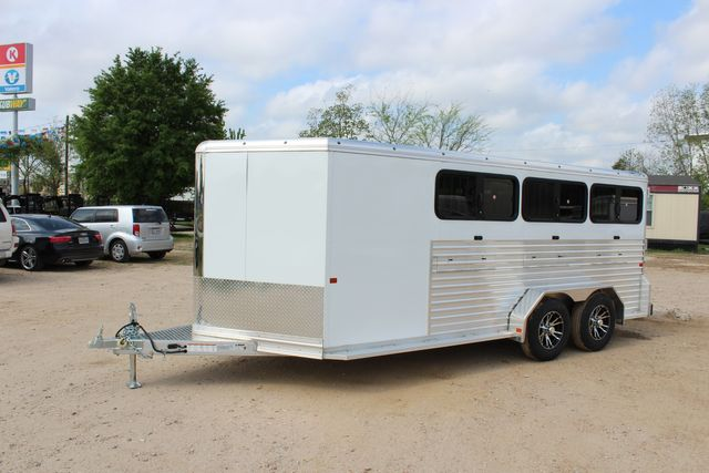 2020 Frontier LOW PRO SHOW 6 pen Livestock show trailer with adjustable pen system+ CONROE, TX 12