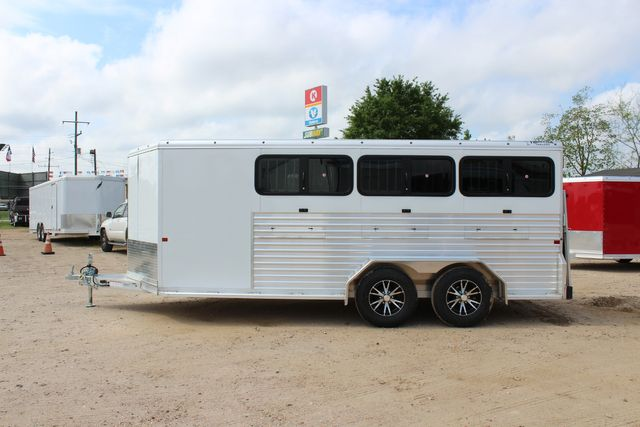2020 Frontier LOW PRO SHOW 6 pen Livestock show trailer with adjustable pen system+ CONROE, TX 14
