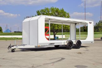 2020 Futura Enclosed Super Tourer Pro Drop Deck Trailer in Fort Worth, TX 76111