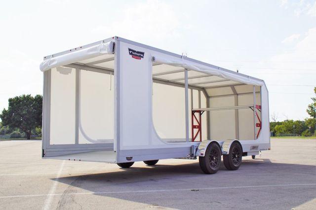 2020 Futura Enclosed Super Tourer Pro Drop Deck Trailer in Fort Worth, TX 76111
